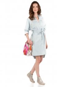 Set | Denim jurk Sissy | blauw  | Afbeelding 3