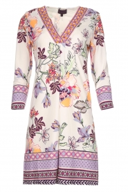 Hale Bob |  Floral print dress Harper | white  | Picture 1