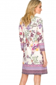 Hale Bob |  Floral print dress Harper | white  | Picture 6