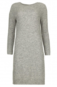 Knit-ted |  Knitted dress Nancy | grey  | Picture 1