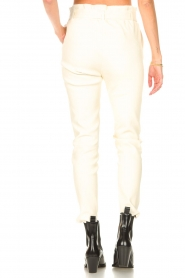 STUDIO AR |  Lamb leather paperbag pants Lotte | natural  | Picture 6
