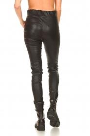 STUDIO AR |  Lamb leather stretch legging Eden | black  | Picture 7