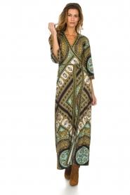 Hale Bob |  Wrap dress Phoebe | black  | Picture 2