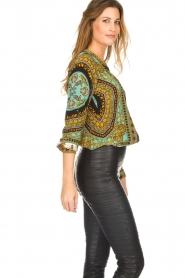 Hale Bob |  Silk blouse Ruby | print  | Picture 5