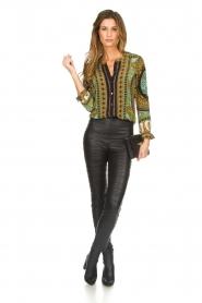 Hale Bob |  Silk blouse Ruby | print  | Picture 3