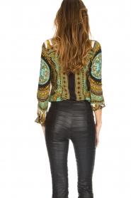 Hale Bob |  Silk blouse Ruby | print  | Picture 6