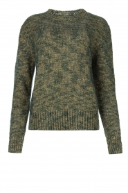 Knit-ted |  Sweater with lurex Zurich | blue