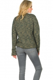 Knit-ted |  Sweater with lurex Zurich | blue  | Picture 6