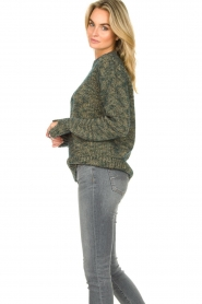 Knit-ted |  Sweater with lurex Zurich | blue  | Picture 5