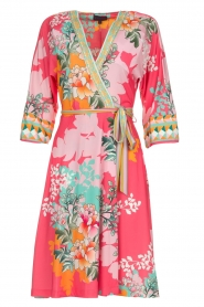Hale Bob |  Wrap dress Eliza | pink  | Picture 1