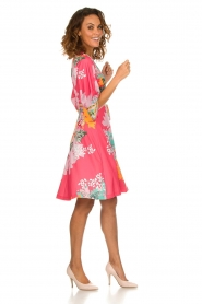 Hale Bob |  Wrap dress Eliza | pink  | Picture 3