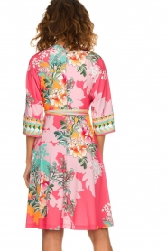 Hale Bob |  Wrap dress Eliza | pink  | Picture 5