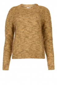 Knit-ted |  Sweater with lurex Zurich | gold  | Picture 1