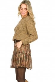 Knit-ted |  Sweater with lurex Zurich | gold  | Picture 6