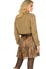Knit-ted |  Sweater with lurex Zurich | gold  | Picture 7