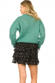 Knit-ted | Knitted sweater Stephanie | green  | Picture 6