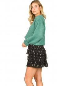 Knit-ted | Gebreide trui Stephanie | groen  | Afbeelding 5