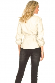 STUDIO AR |  Leather top Blair | natural  | Picture 6