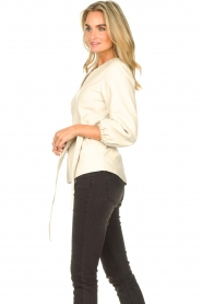 STUDIO AR |  Leather top Blair | natural  | Picture 5