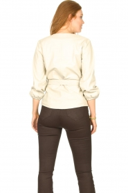 STUDIO AR    Leather top Blair   natural    Picture 7