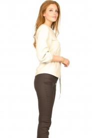STUDIO AR    Leather top Blair   natural    Picture 6