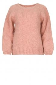Knit-ted |  Knitted sweater Linda | pink  | Picture 1