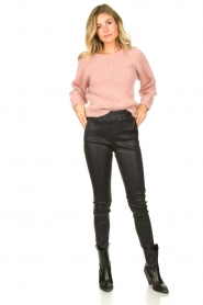 Knit-ted |  Knitted sweater Linda | pink  | Picture 6