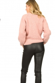 Knit-ted |  Knitted sweater Linda | pink  | Picture 4