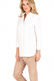 By Malene Birger | Blouse Jerana | wit  | Afbeelding 4