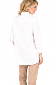 By Malene Birger | Blouse Jerana | wit  | Afbeelding 5