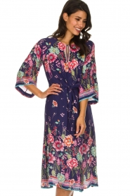 Hale Bob |  Floral dress Chermonia | blue  | Picture 2