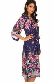 Hale Bob |  Floral dress Chermonia | blue  | Picture 4