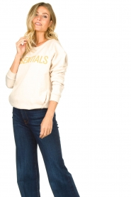 Knit-ted | Trui Misty | naturel  | Afbeelding 5