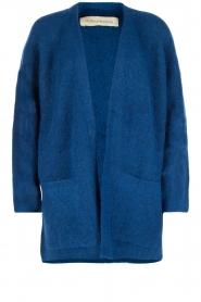 By Malene Birger | Wollen vest Inoa | kobalt blauw  | Afbeelding 1