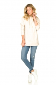 Knit-ted | Sweater Mel  | naturel  | Afbeelding 3