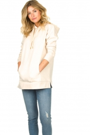 Knit-ted | Sweater Mel  | naturel  | Afbeelding 2