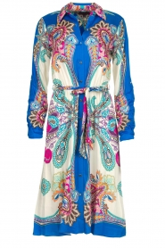 Hale Bob |  Printed dress Gruey | blue  | Picture 1