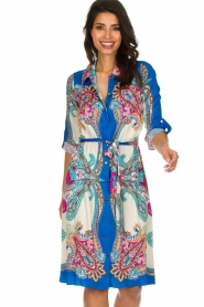 Hale Bob |  Printed dress Gruey | blue  | Picture 2