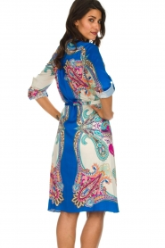 Hale Bob |  Printed dress Gruey | blue  | Picture 5