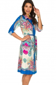 Hale Bob |  Printed dress Gruey | blue  | Picture 4