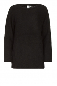Knit-ted |  Knitted sweater Nila | black  | Picture 1