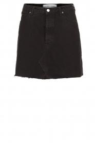 IRO |  Denim skirt Saiaun | black  | Picture 1