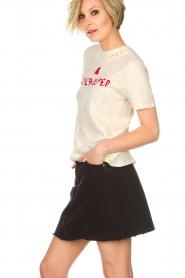 IRO |  Denim skirt Saiaun | black  | Picture 3