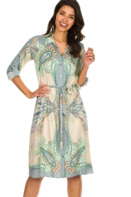 Hale Bob |  Dress with print Gruey | grey  | Picture 2