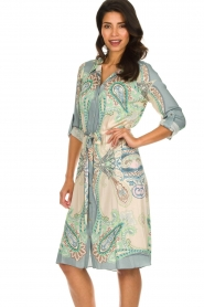 Hale Bob |  Dress with print Gruey | grey  | Picture 4