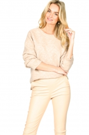 Knit-ted |  Knitted sweater Nila | natural  | Picture 5