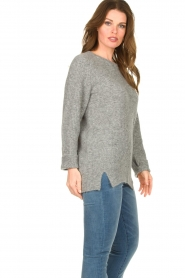Knit-ted |  Knitted sweater Nila | grey  | Picture 5