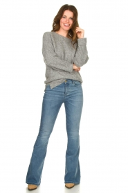 Knit-ted |  Knitted sweater Nila | grey  | Picture 3