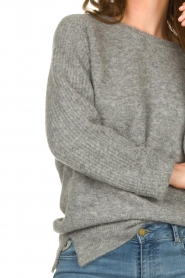 Knit-ted |  Knitted sweater Nila | grey  | Picture 7