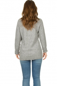 Knit-ted |  Knitted sweater Nila | grey  | Picture 6